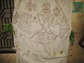 Photo: before nayana unmeelanam - before opening the eyes of Garuda thro mantra