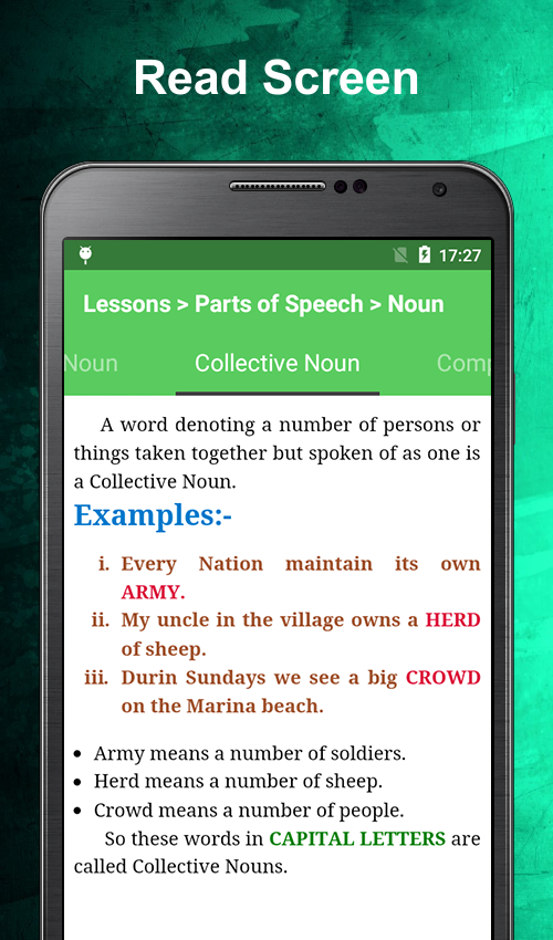 English Grammar Book Offline: Learn and Practice- screenshot