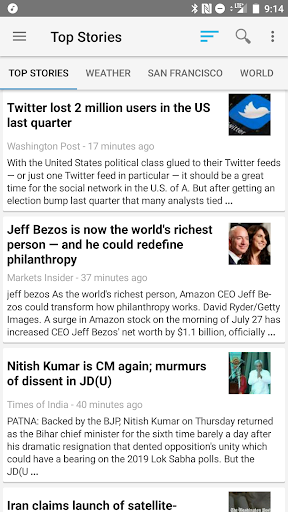 News Reader  screenshots 1