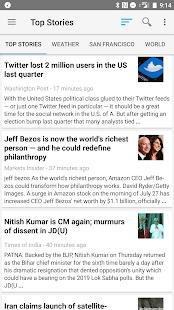 News Reader - náhled
