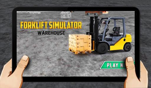 Forklift simulator warehouse 1.0 screenshots 1