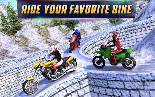 Crazy Offroad Hill Biker 3D screenshot 06