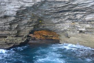 Photo: vchod do jaskyne  Grotte Marine du Sdragonato