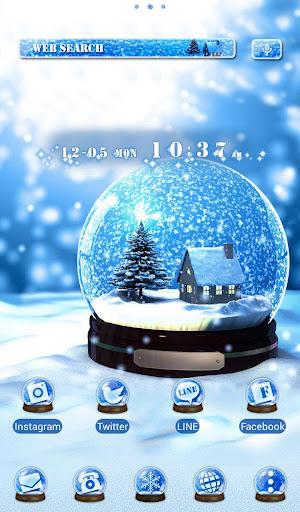 クリスマス壁紙アイコン スノーボール