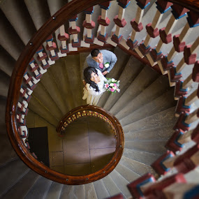 by Graham Sivills FBCS - Wedding Bride & Groom (  )