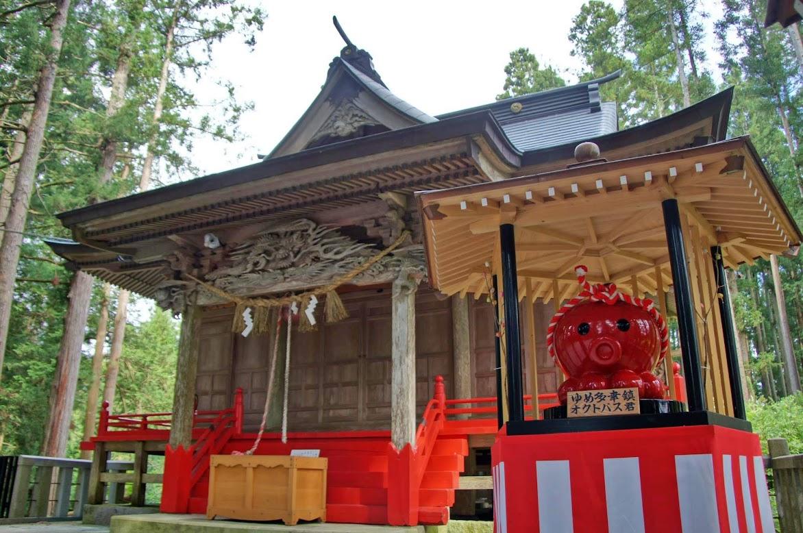 入谷・八幡神社
