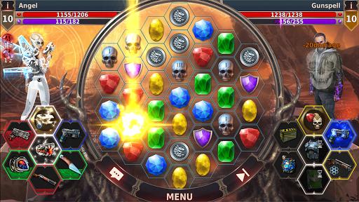 Gunspell 2 - Bataille de puzzle  captures d'u00e9cran 2