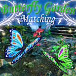 Butterfly Garden Matching Icon