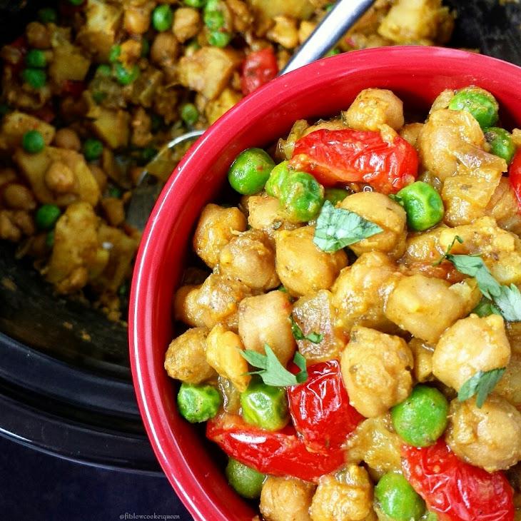 Crock-Pot Vegetarian Curry