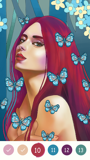 Coloring Games: Adult Coloring Book & Picsart 1.0.9 screenshots 4
