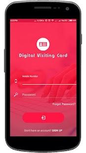 Digital Visiting Card - náhled