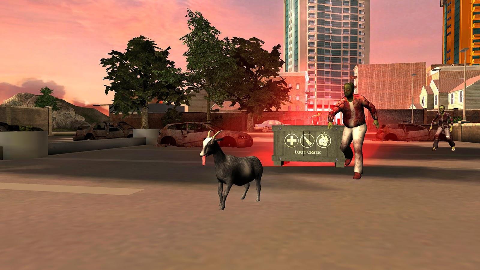 goat simulator demo