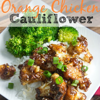 Vegetarian Orange Chicken Cauliflower Recipe