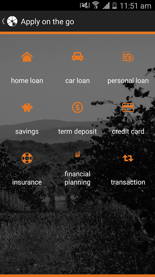 Orange Credit Union- screenshot