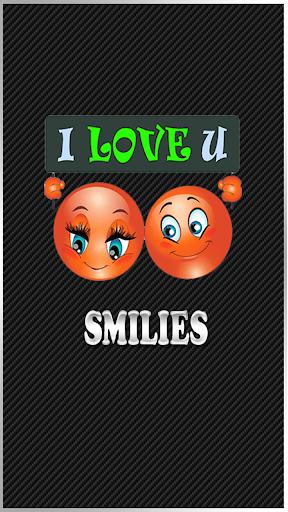 可爱的笑脸贴纸