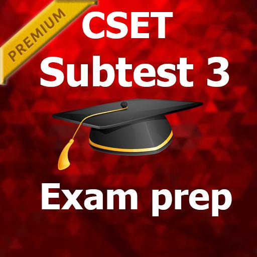 CSET Subtest 3 MCQ Exam Prep PRO 2018 Ed – Apper på Google Play