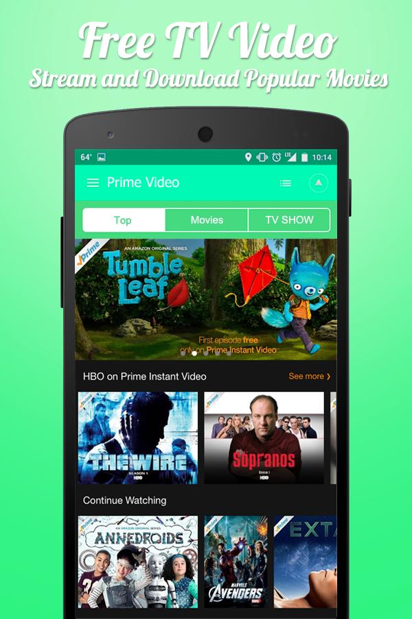 kostenlose amazon prime video android apps download. Black Bedroom Furniture Sets. Home Design Ideas