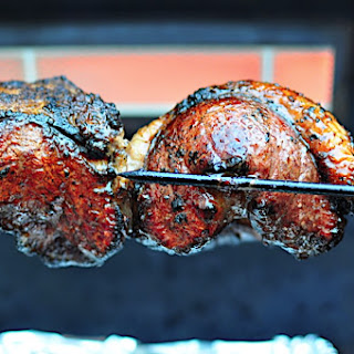 Picanha – Rotisserie Top Sirloin Steaks, Churrascaria Style.