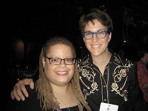 Photo: With Rachel Maddow