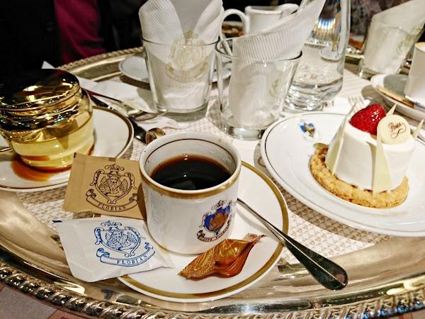 信義區咖啡廳:世界最美咖啡館「福里安花神咖啡」Caffè Florian