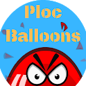 Ploc Balloons - Free casual game icon