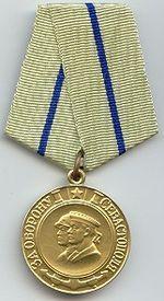 Картинки по запросу медаль за оборону севастополя