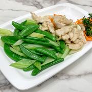 G17. Stir Fried Chicken with Celery 荷芹炒雞片