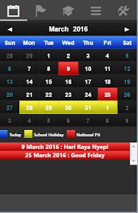 Indonesia Calendar - náhled
