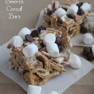 Smores Cereal Bars.