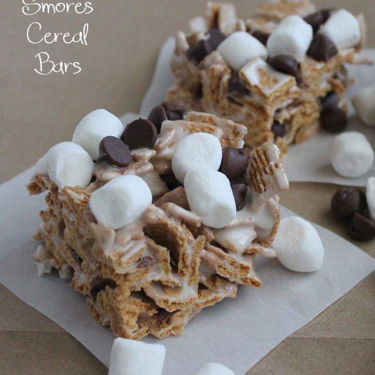 Smores Cereal Bars Recipe