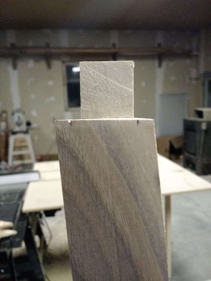 finished tenon