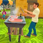 Glückliche Vati-Familie - virtueller Leben-Sim icon