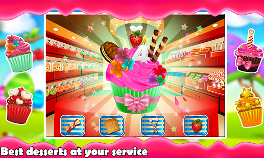 Cooking Games - Fruit Juice & Cupcake Maker - náhled