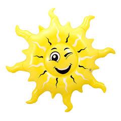 Uppblåsbar, sol