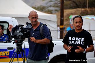 Photo: the video crew...