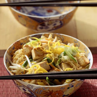 Oriental Noodle Bowl with Veggies