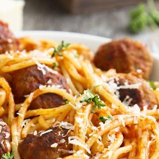 Instant Pot Spaghetti with Meatballs Recipe