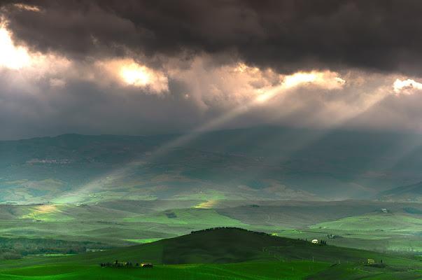 Raggi di luce in Toscana di andreap