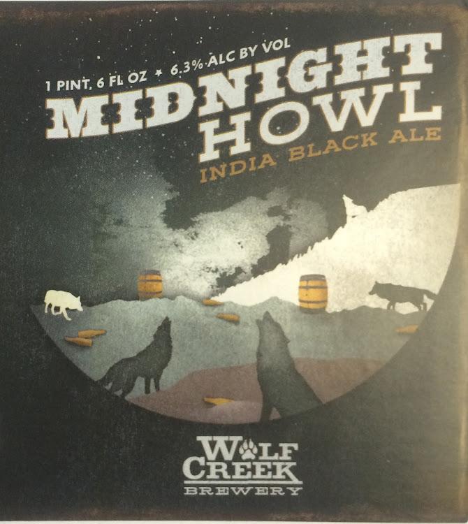 Logo of Wolf Creek Midnight Howl Black IPA