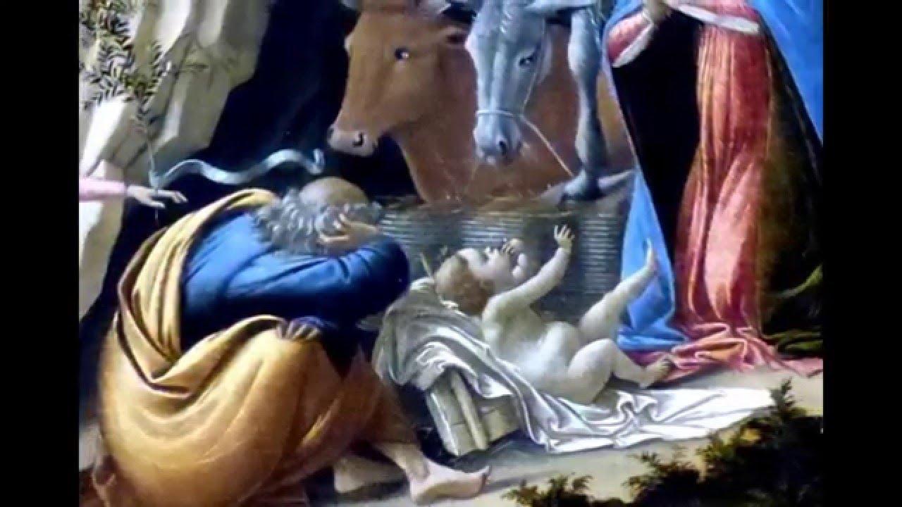 Article of Botticelli's Mystical Nativity