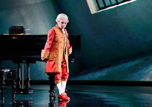 Photo: Wien/ Raimundtheater: MOZART - das Musical. Premiere 13.9.2015. Lucas MacGregor. Copyright: Barbara Zeininger