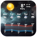 3d Weather Forecast Graphic icon