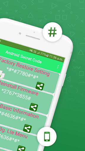 Secret Codes for android ss2