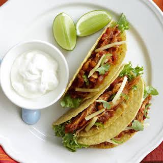 Shredded Chicken Tacos.