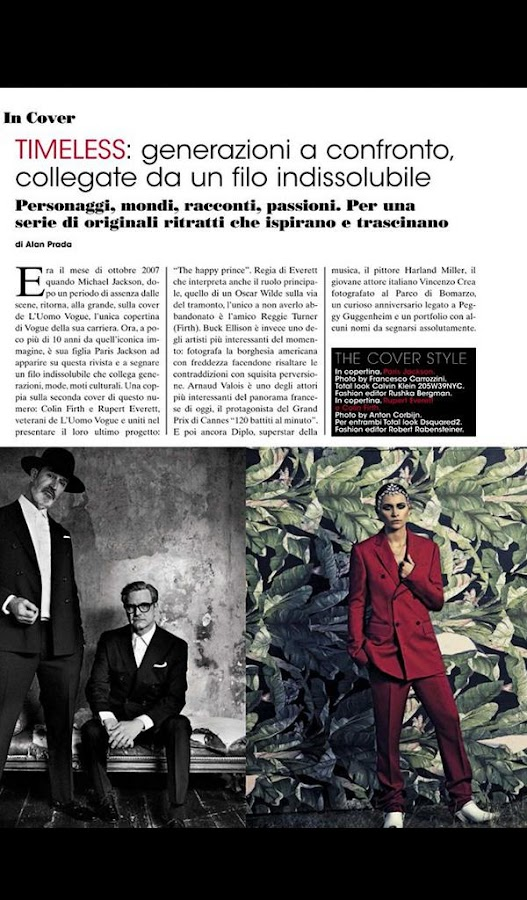 L'UOMO VOGUE- screenshot