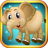 Elephant Puzzle Games For Kids