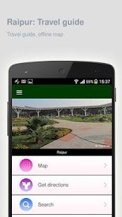 Raipur: Offline travel guide - náhled