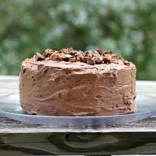 Buckeye Fudge Layer Cake.