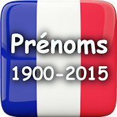 France Baby Names 1900 - 2015