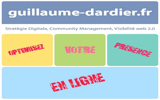 Application du Blog Guillaume Dardier